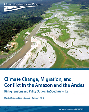 Climate Change, Migration, and Conflict in the Amazon and the Andes