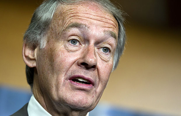 Rep. Ed Markey (D-MA), the ranking member of the House Natural Resources Committee, speaks during a news conference on Capitol Hill in Washington, Monday, June 18, 2012. Rep. Markey recently spoke on the importance of adequate science funding.