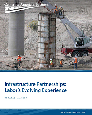 Infrastructure Partnerships: Labor's Evolving Experience