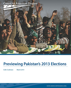 Previewing Pakistan's 2013 Elections