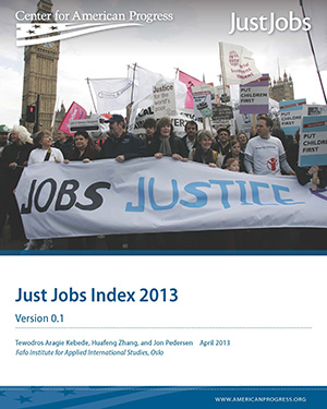 Just Jobs Index 2013