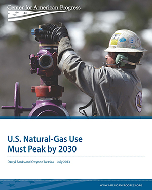 U.S. Natural-Gas Use Must Peak by 2030