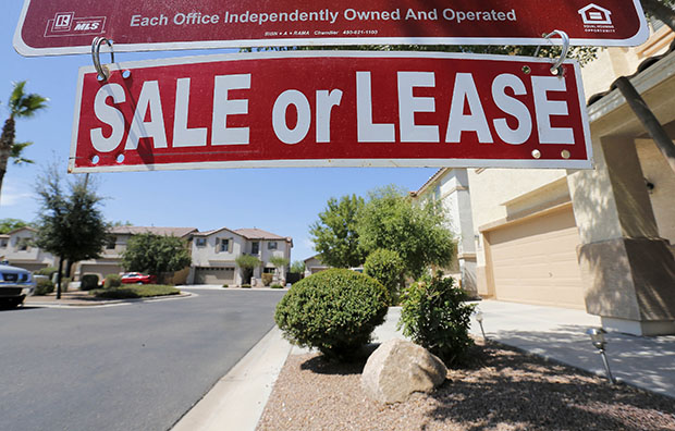 A home is seen for sale on Tuesday, July 30, 2013, in Gilbert, Arizona. Housing finance reform has major implications for the Millennial generation.