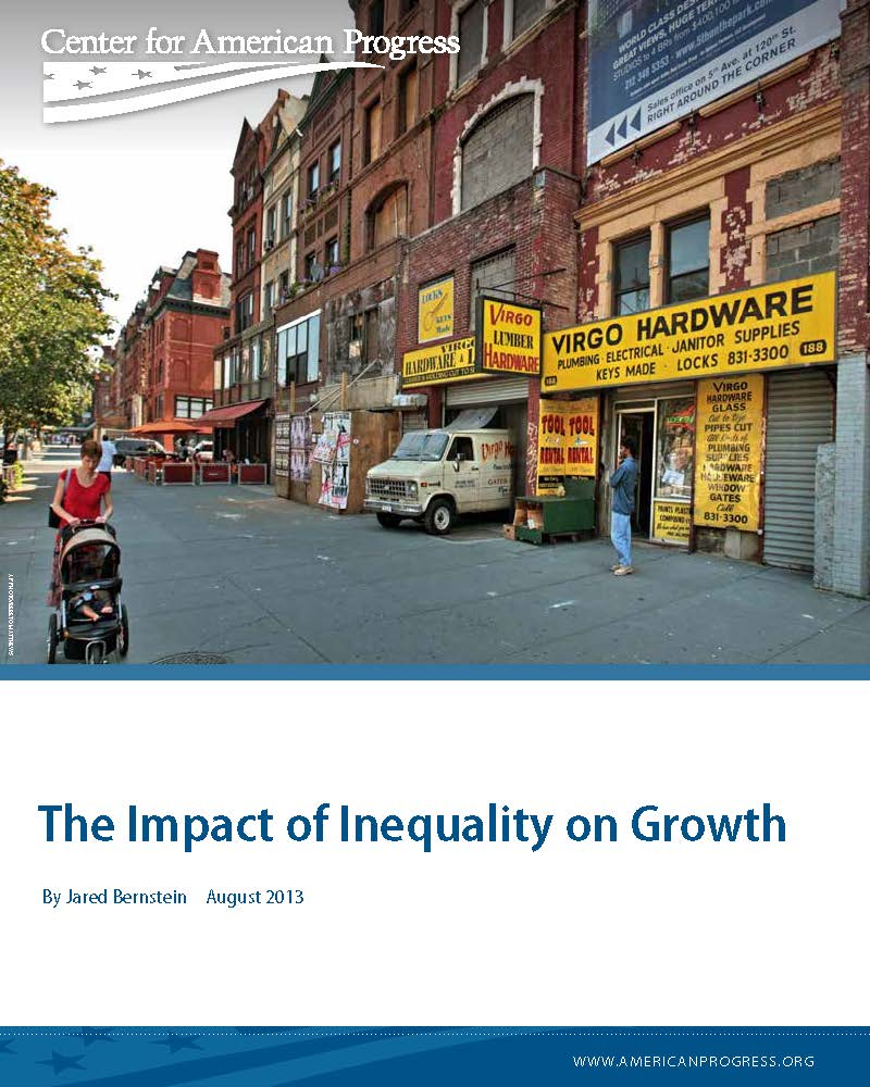 The Impact of Inequality on Growth