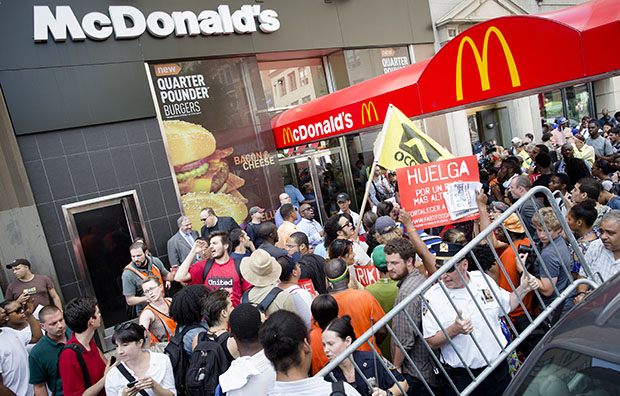 McDonald's strike