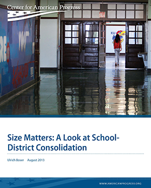 Size Matters: A Look at School-District Consolidation