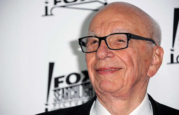 Rupert Murdoch arrives at the Twentieth Century Fox & Fox Searchlight Pictures Oscar Party at Lure, Sunday, February 24, 2013, in Los Angeles, California.