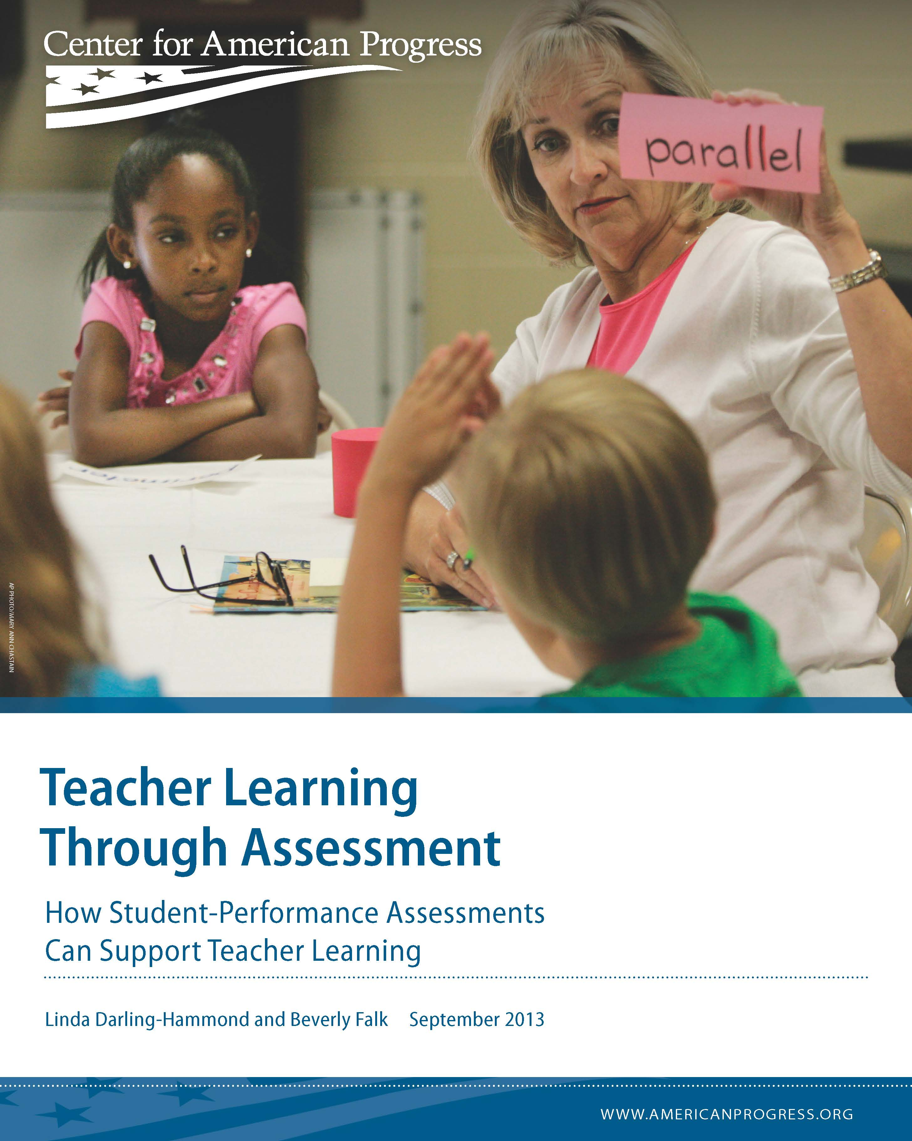 Teacher Learning Through Assessment