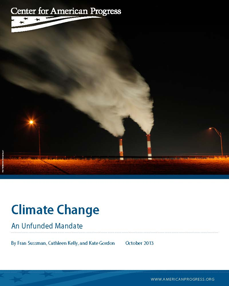 Climate Change: An Unfunded Mandate