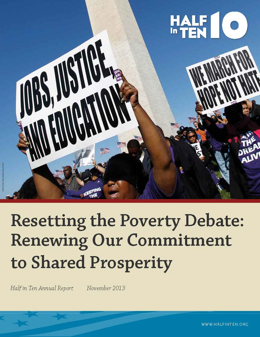Resetting the Poverty Debate: Renewing Our Commitment to Shared Prosperity
