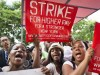 Fast food worker strike