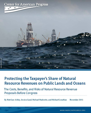 Protecting the Taxpayer's Share of Natural Resource Revenues on Public Lands and Oceans