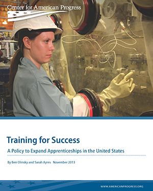 Training for Success: A Policy to Expand Apprenticeships in the United States