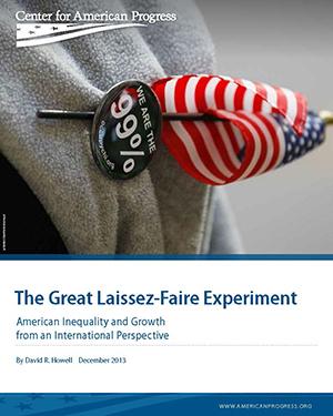 The Great Laissez-Faire Experiment