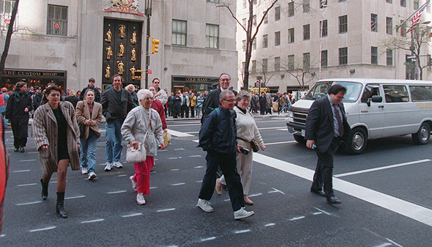 Fifth Avenue Crosswalk