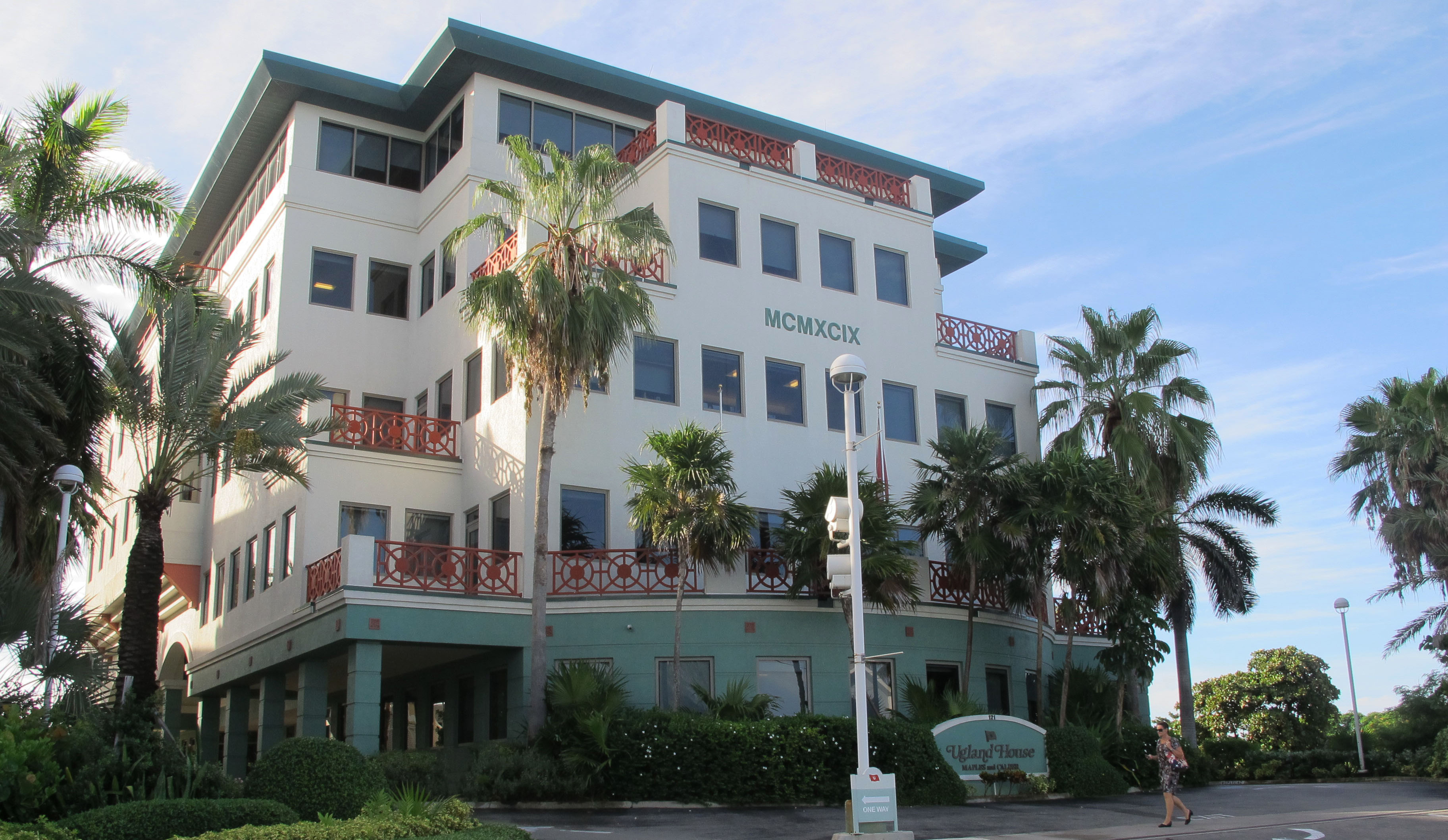 The Ugland House in George Town on Grand Cayman Island is the registered office for thousands of global companies. It has helped build the Cayman Islands into one of the most famous offshore banking centers.