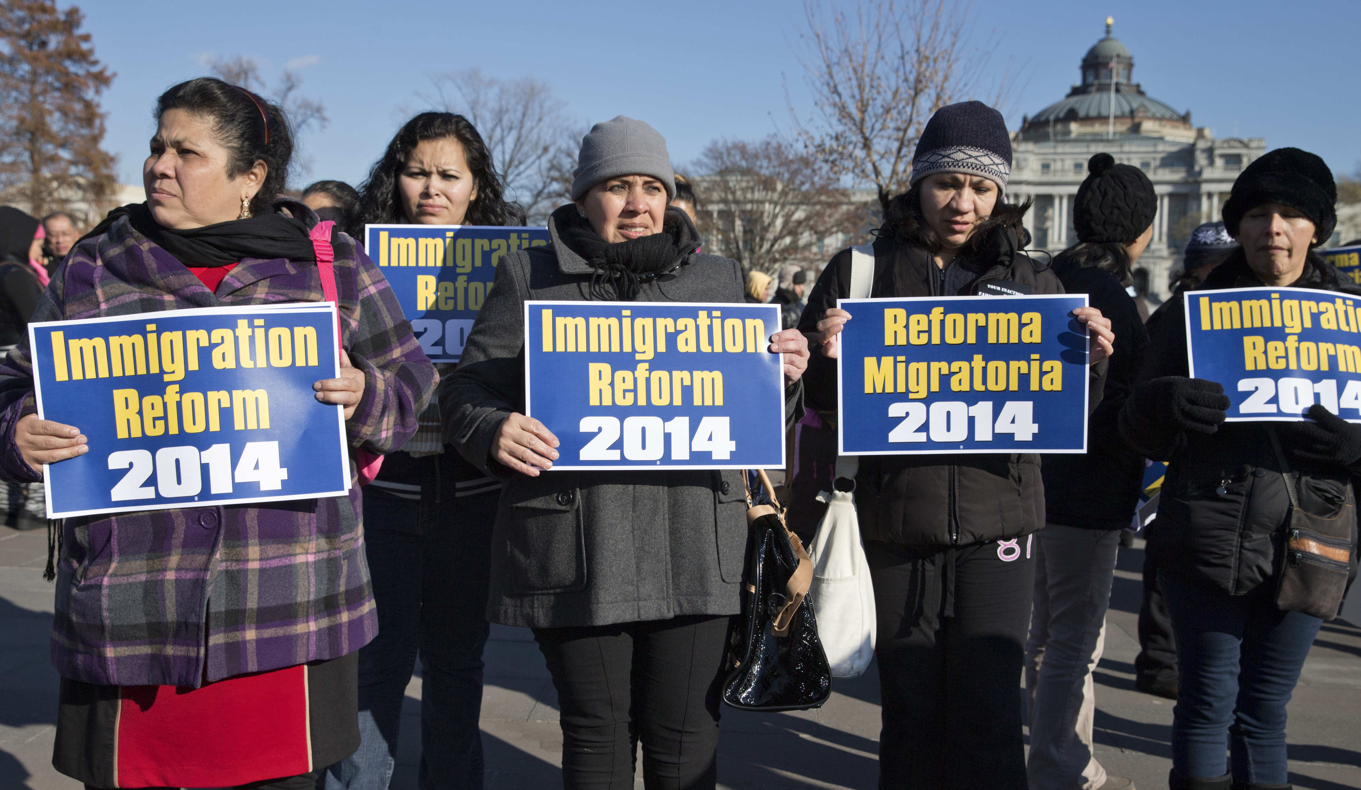 Immigration activists