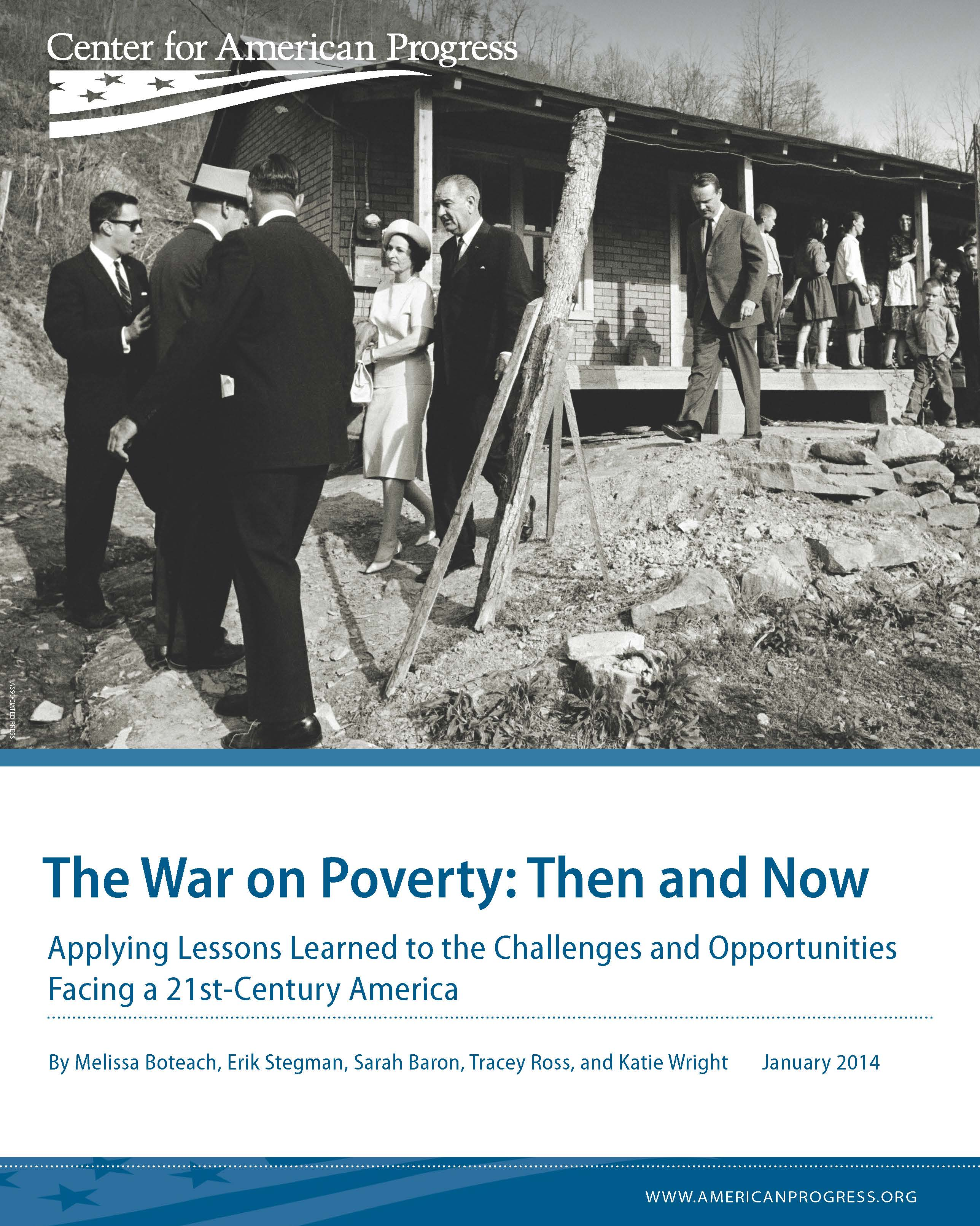 The War on Poverty: Then and Now