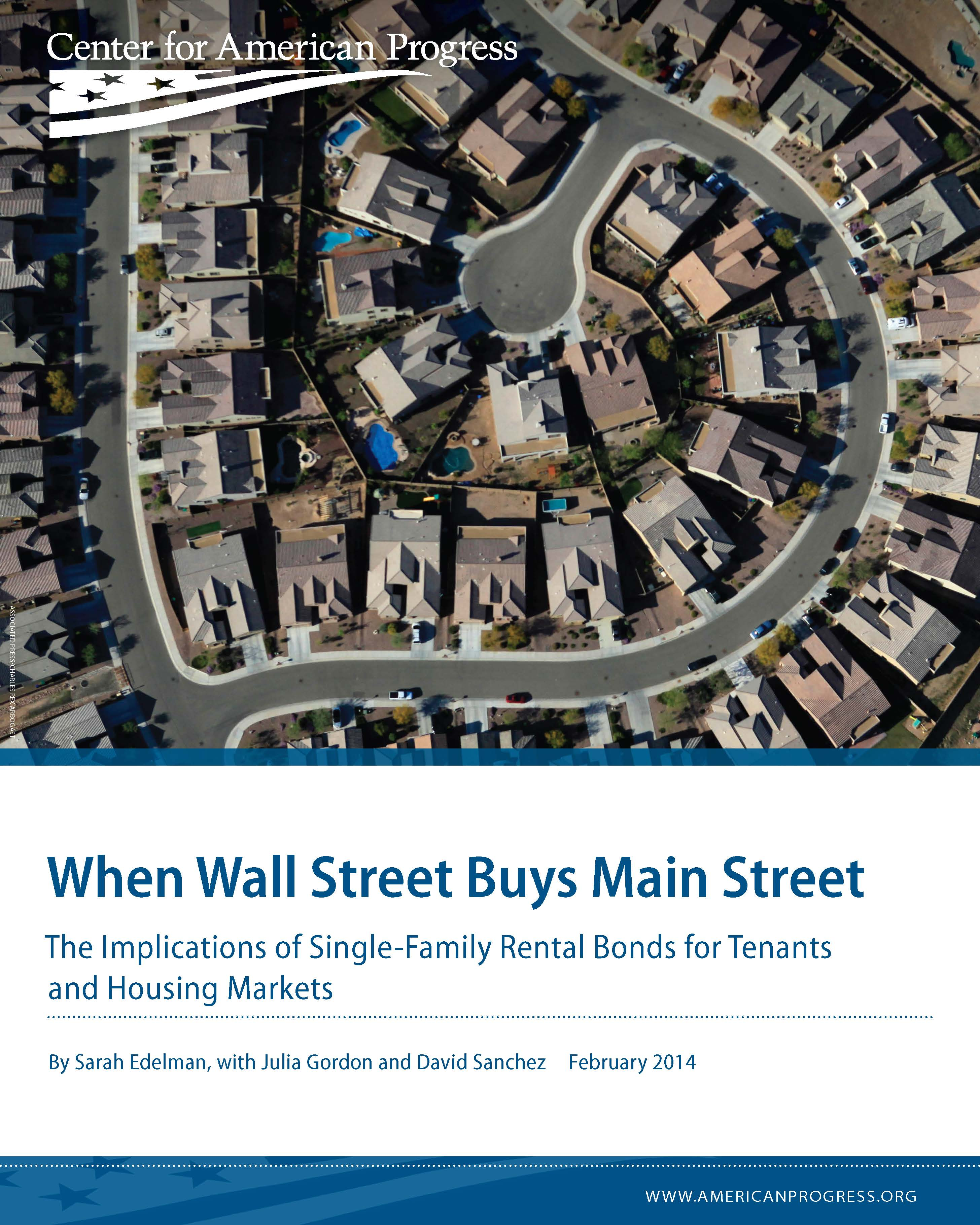 When Wall Street Buys Main Street