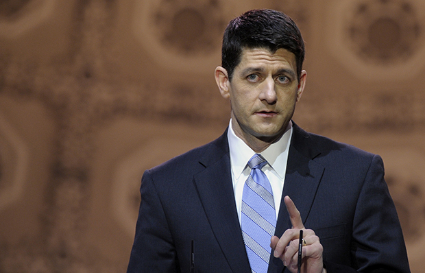 House Budget Committee Chairman Paul Ryan speaks at the Conservative Political Action Conference in National Harbor, Maryland, Thursday, March 6, 2014.