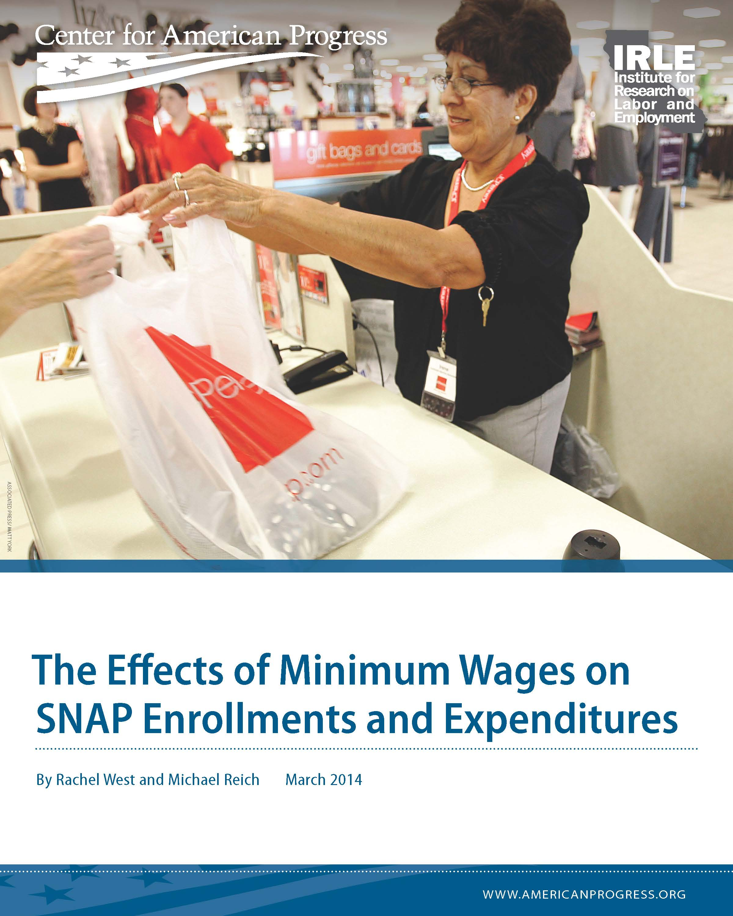 The Effects of Minimum Wages on SNAP Enrollments and Expenditures