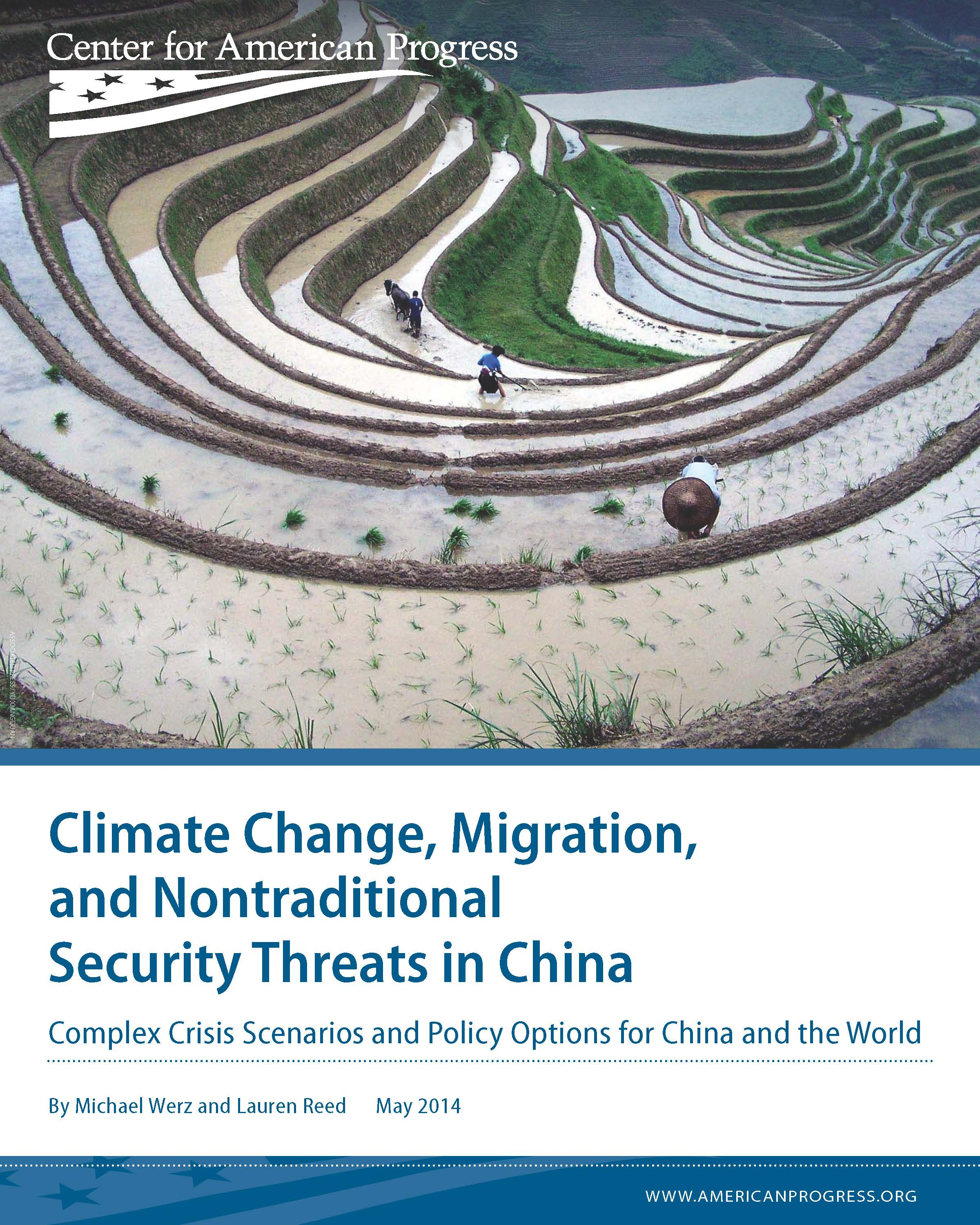 Climate Change, Migration, and Nontraditional Security Threats in China