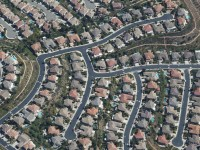 A housing development in Orange County, California.