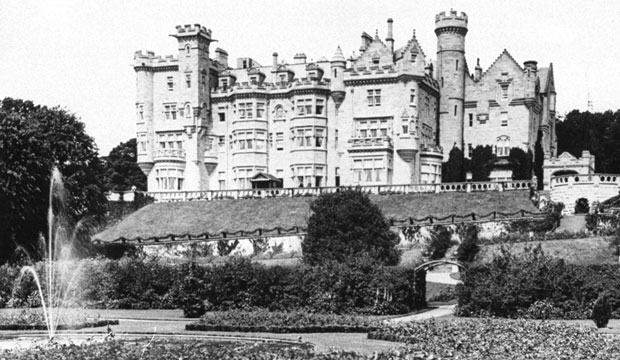 This undated photo shows Skibo Castle, the estate of Scottish-born industrialist Andrew Carnegie.