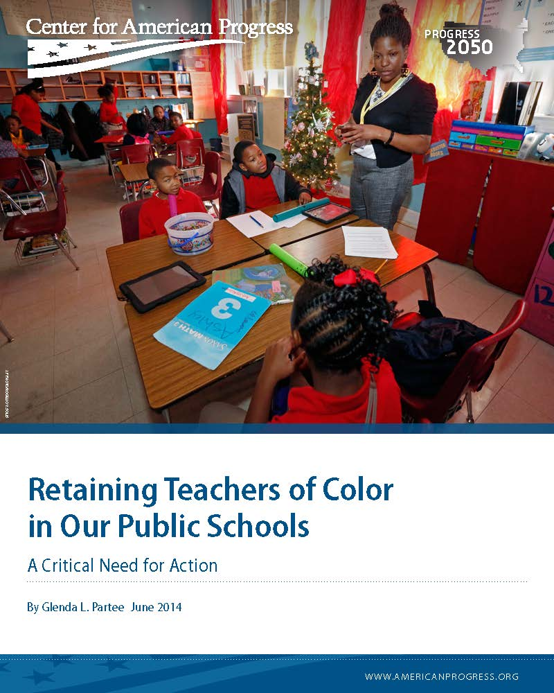 Retaining Teachers of Color in Our Public Schools