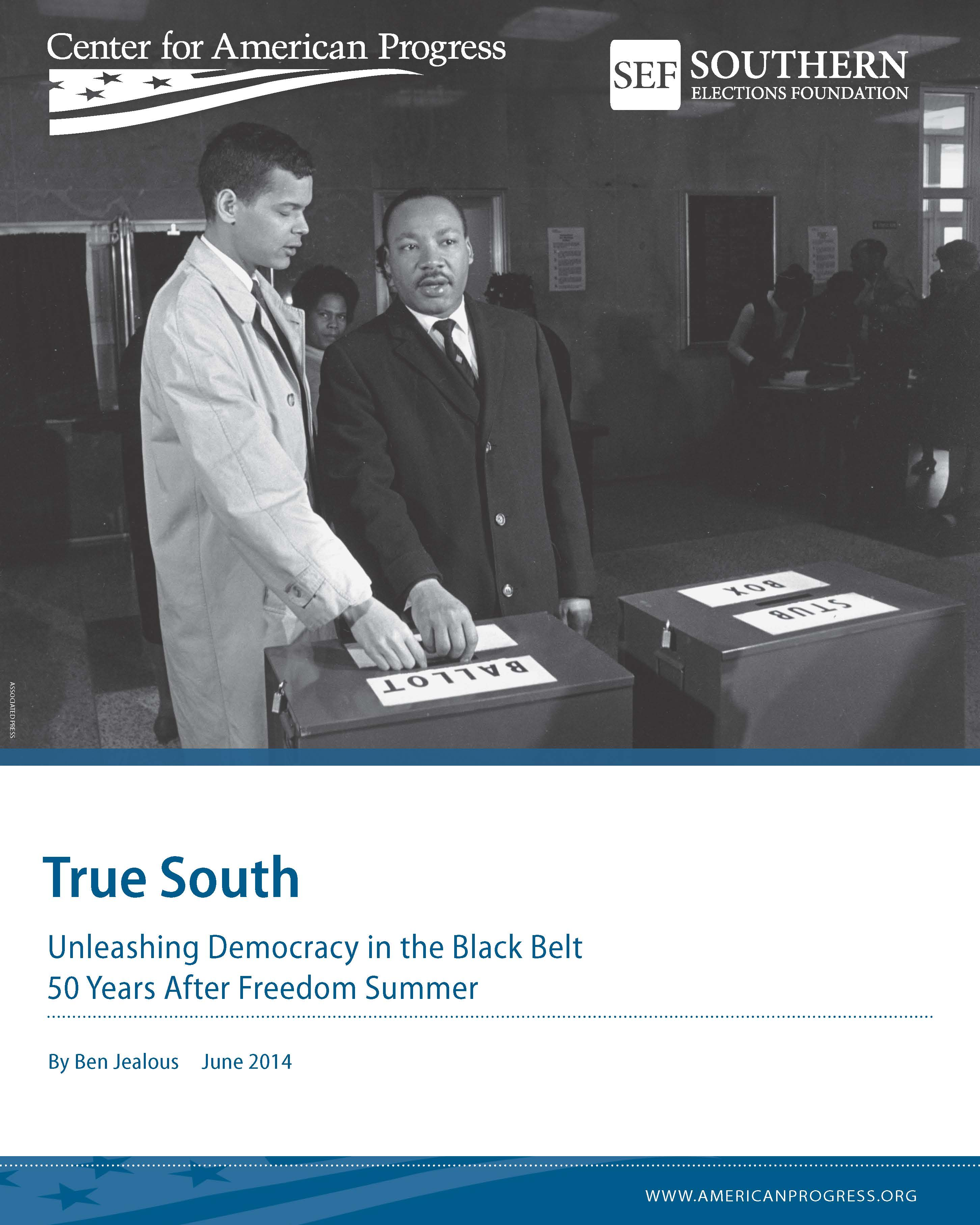 True South: Unleashing Democracy in the Black Belt 50 Years After Freedom Summer
