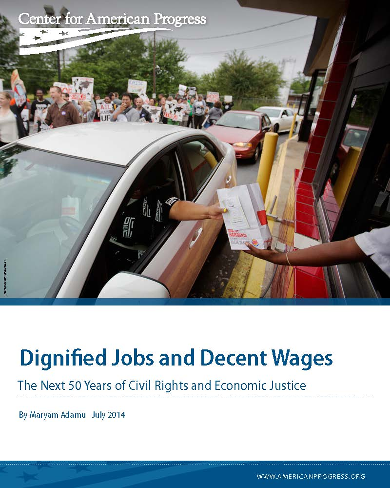 Dignified Jobs and Decent Wages