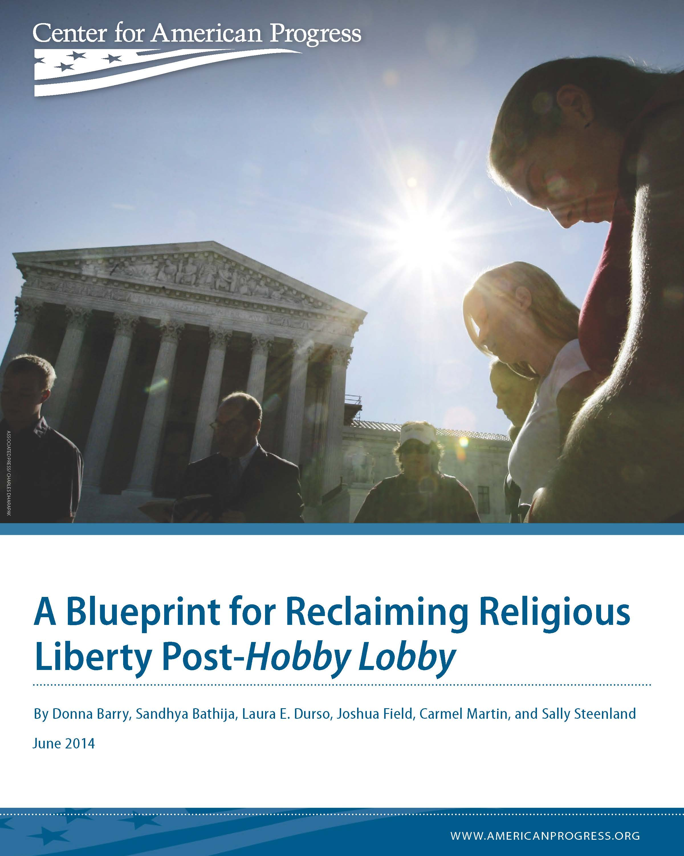 A Blueprint for Reclaiming Religious Liberty Post-<i>Hobby Lobby</i>