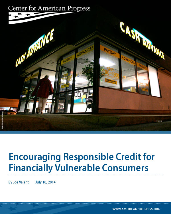Encouraging Responsible Credit for Financially Vulnerable Consumers