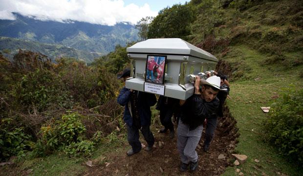 guatemala funeral