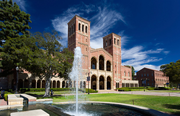 Royce Hall is seen at University of California, Los Angeles.