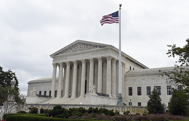 The Supreme Court is shown in Washington, October 3, 2014.