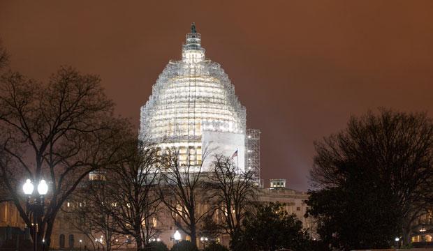 The U.S. Capitol in Washington, January 2015.