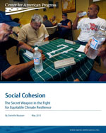 Social Cohesion: The Secret Weapon in the Fight for Equitable Climate Resilience