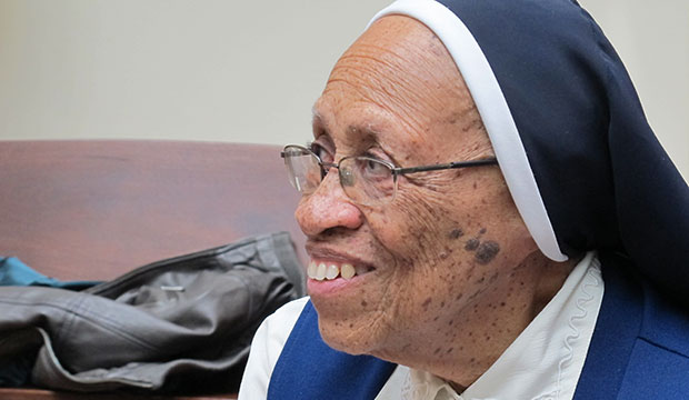 A Roman Catholic nun discusses her elder care.
