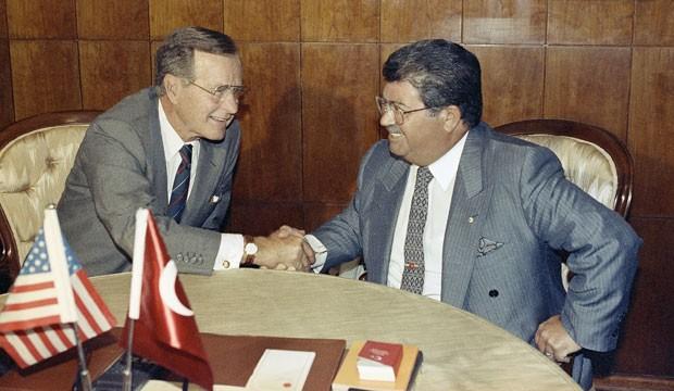 HW Bush and Ozal