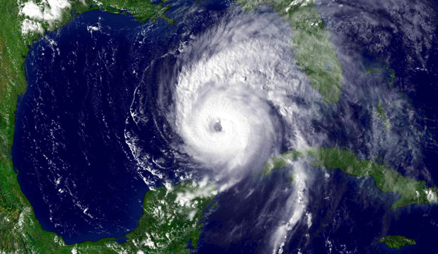 Hurricane Ivan, whose destruction spurred development of the Caribbean Catastrophic Risk Insurance Facility, enters the Gulf of Mexico on September 14, 2004.