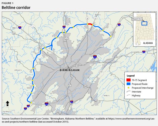 beltline corridor map