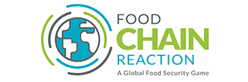 Food Chain Reaction Logo