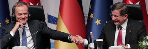 Turkey-EU news conference