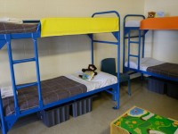 beds in detention center