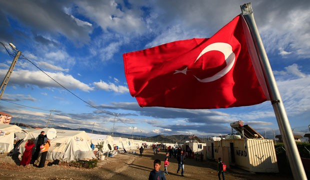 Refugee camp Turkey