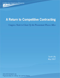 A Return to Competitive Contracting - Center for American