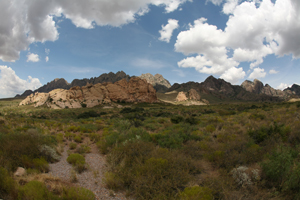 Organ Mountains-Desert Peaks in New Mexico