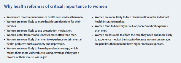 why health reform is important for women
