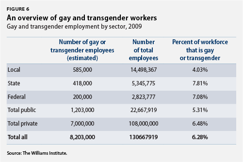 An overview of gay and transgender workers